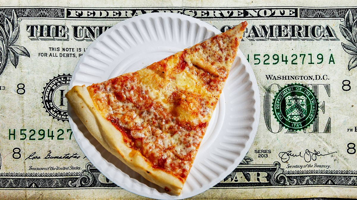 The Iconic Dollar Pizza Slice of NYC