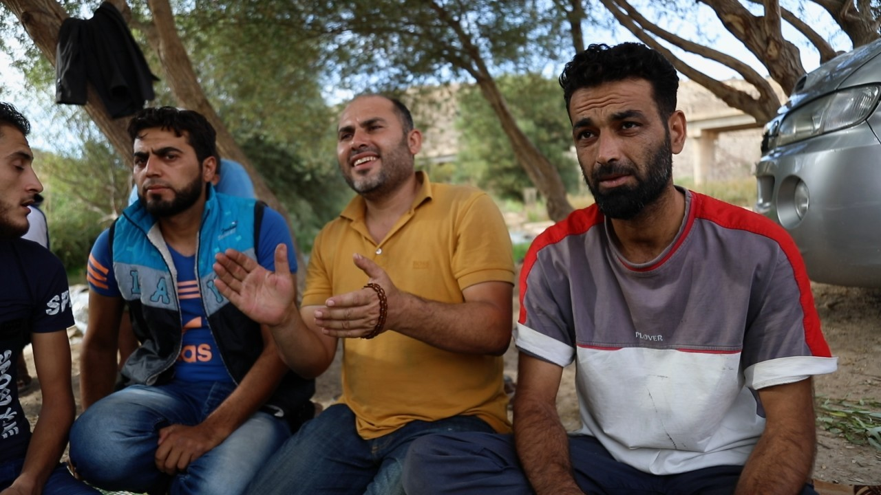 Eight years after the Syrian Civil war, these Syrians are still protesting
