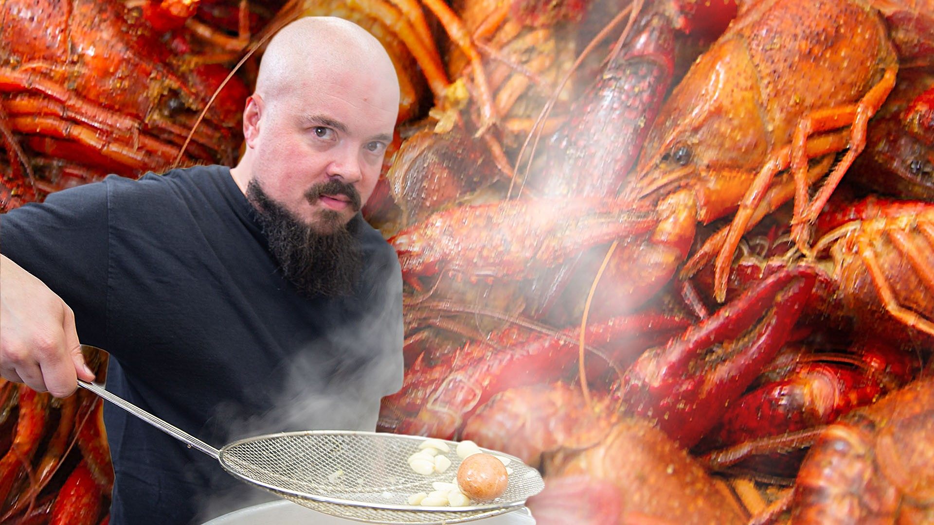 How To Make a Crawfish Boil with Issac Toups