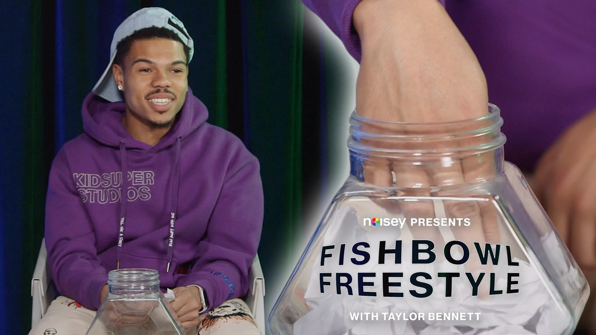 Fishbowl Freestyle with Taylor Bennett
