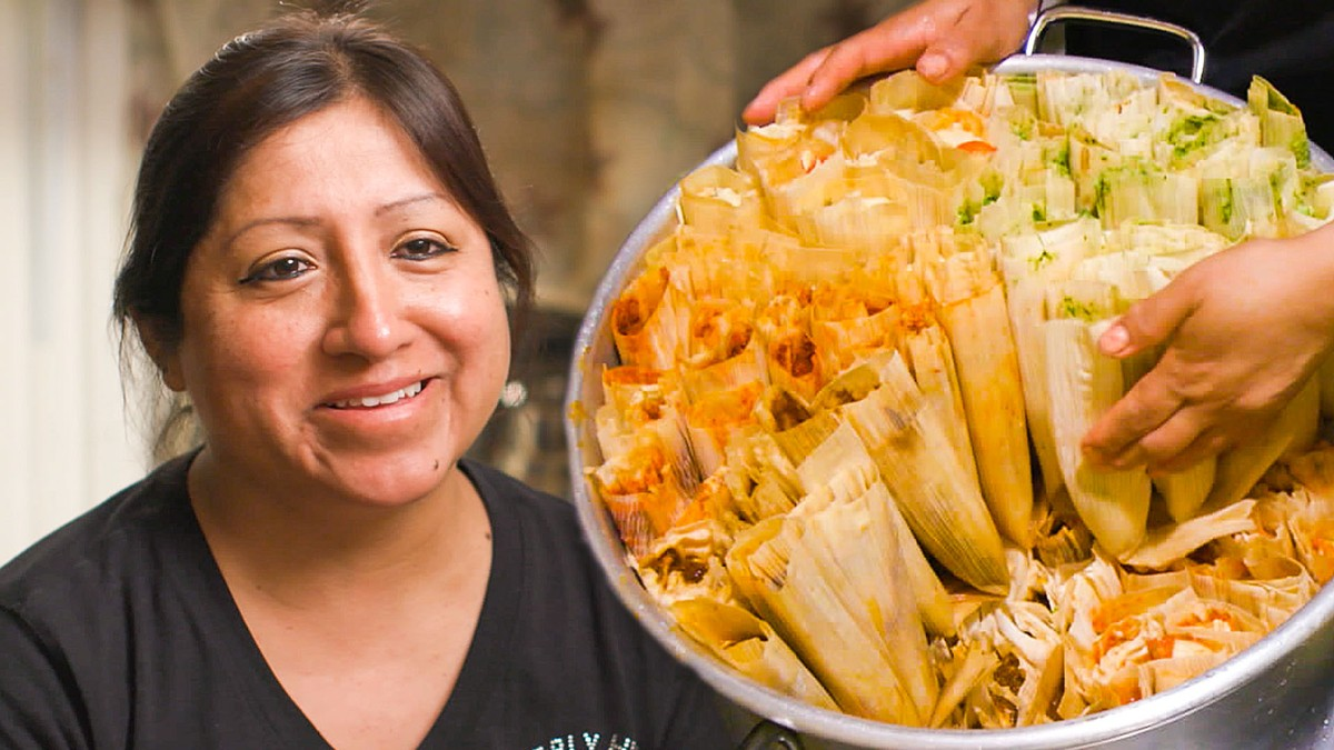 The Queen of the Tamale Carts in Corona, New York