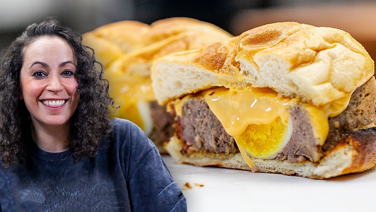 The Best Breakfast Sandwich is Meatloaf - The Cooking Show