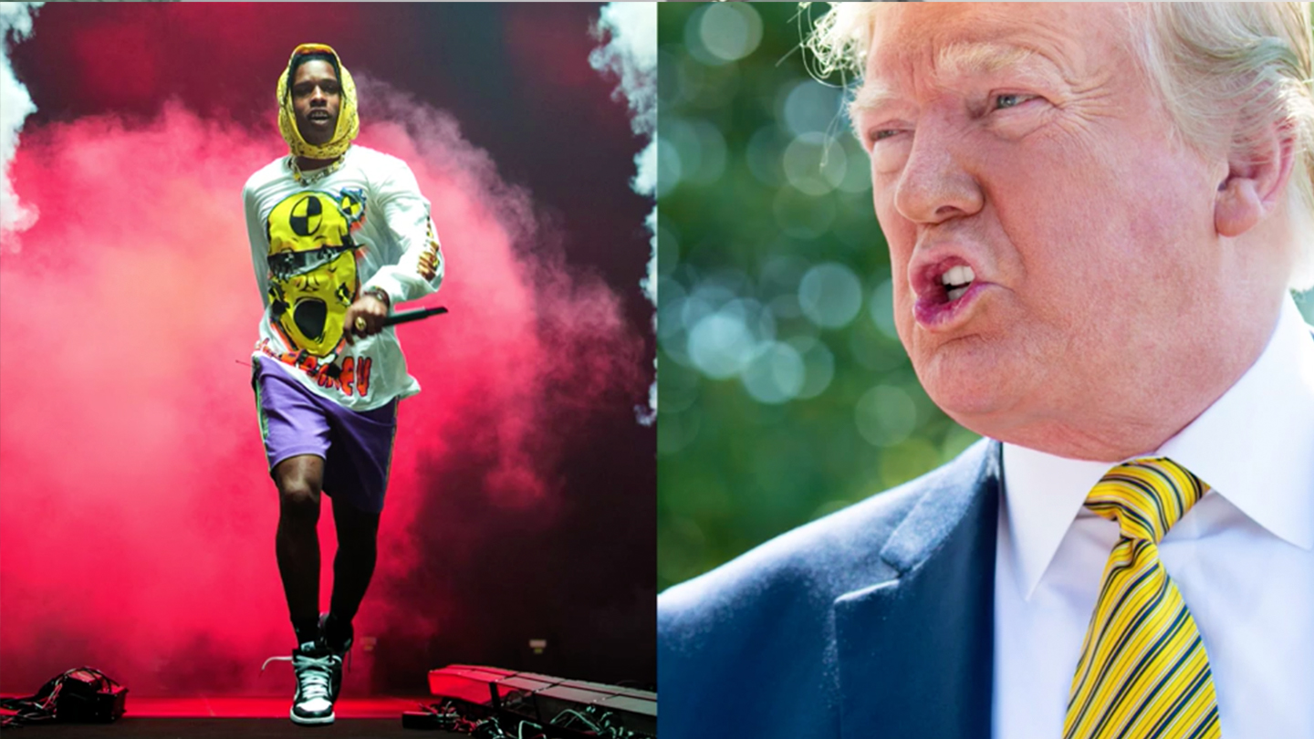 Trump Really Wanted A$AP Rocky to Personally Thank Him. But Rocky Stopped Returning his Texts.