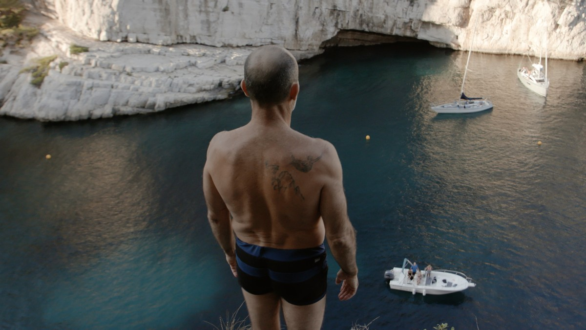We followed France's most famous cliff diver as he attempted to set a new world record
