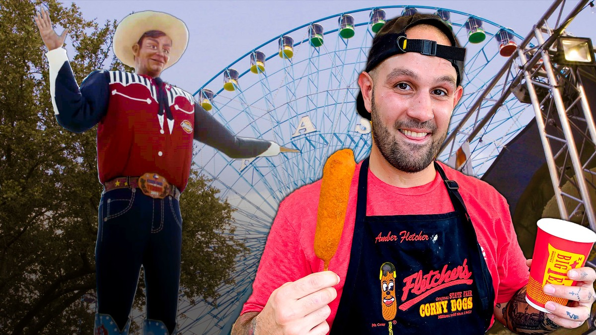 600,000 Corn Dogs at the Texas State Fair - A Frank Experience