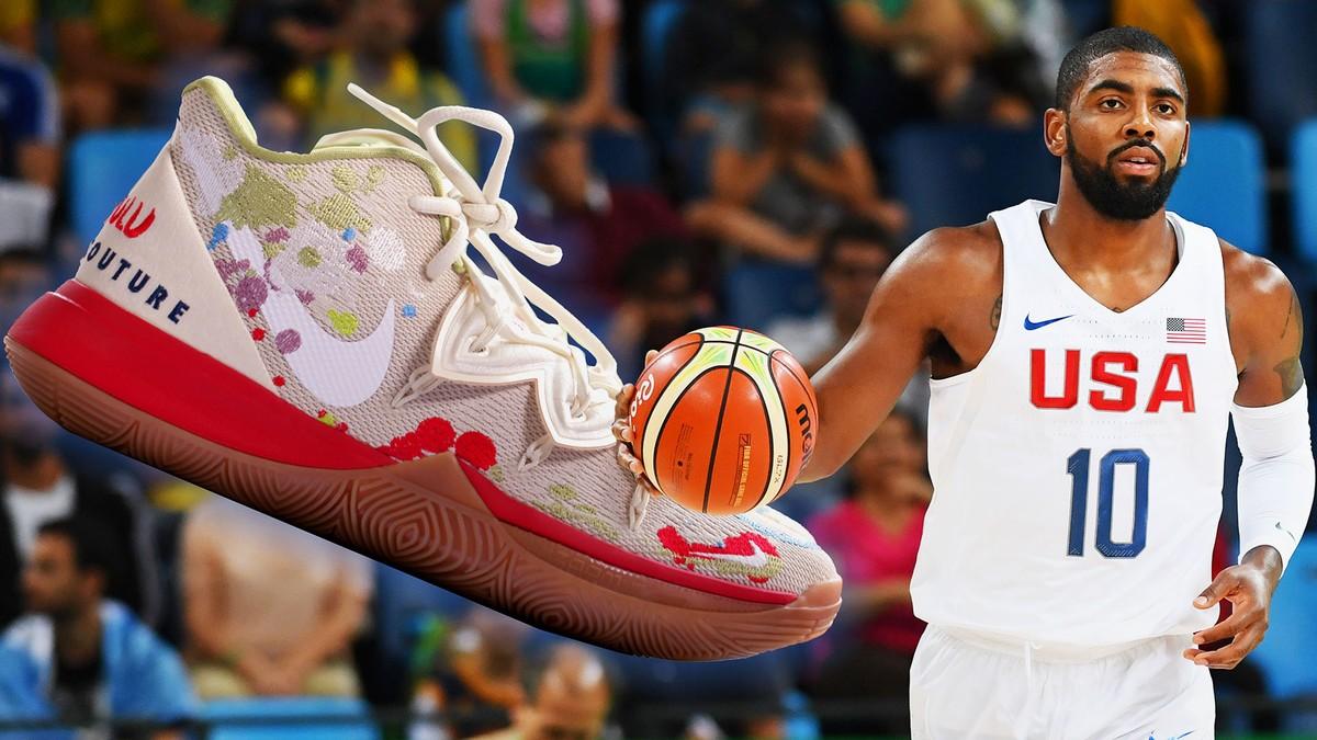 Creating Kyrie Irving's Next Custom Sneaker: Bandulu