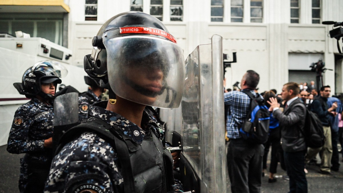 Fence Climbing and a Parliamentary Brawl: The Latest in Venezuela's Power Struggle