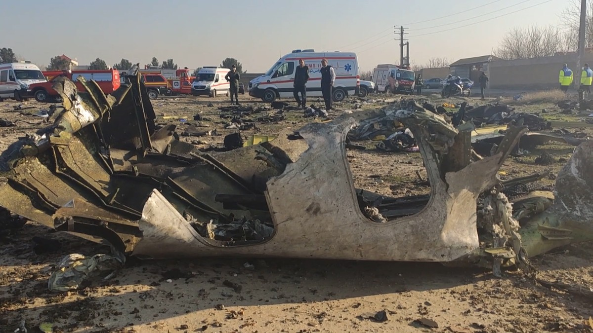 A Boeing Jet Crashed in Iran Killing Everyone Onboard and Nobody Knows Why